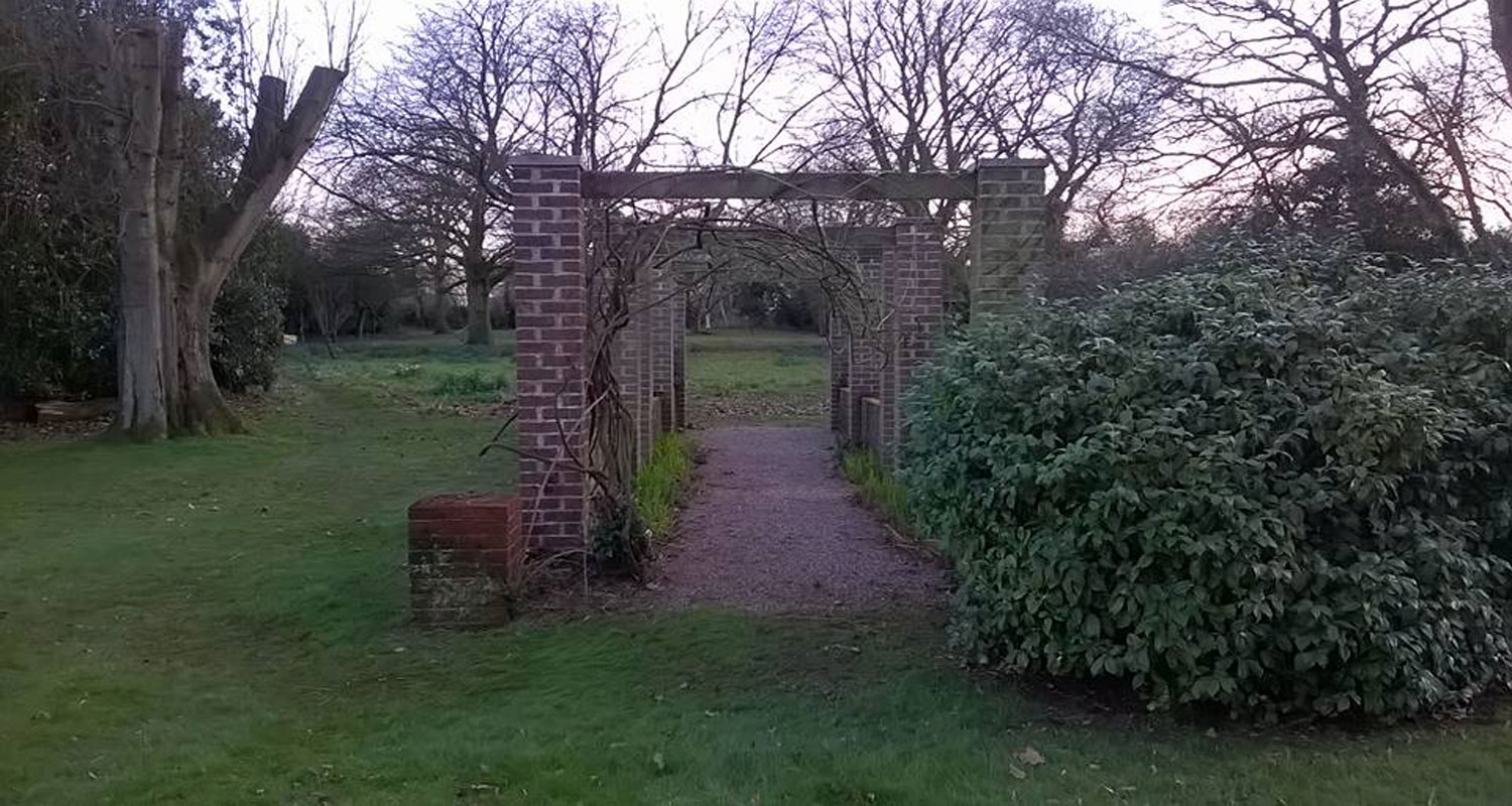 Brick Arch Garden Clearance After