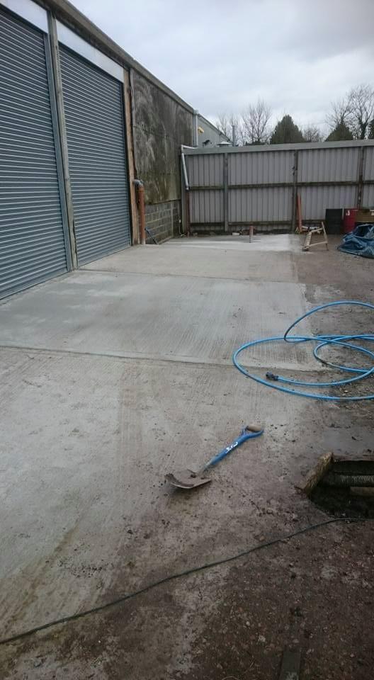 Concrete Filled