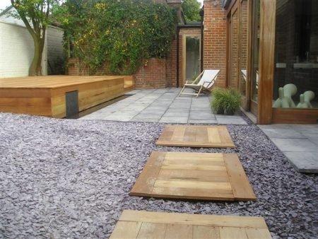 Example of Modern Landscaping Ashford Kent