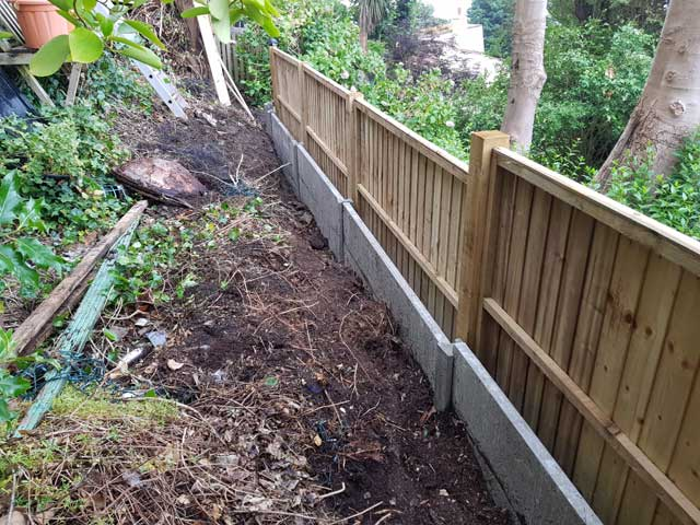 Wooden Closeboard Fencing